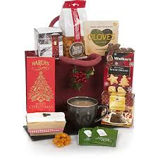 Food Gifts For Christmas A Little Taste Of Christmas Hamper Hampers And Gift Baskets For