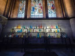 reflection new glass exhibition opens salisbury cathedral