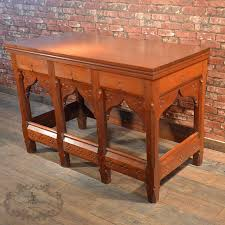 Arts And Crafts Sofa Table by Antique Serving Table Arts And Crafts Pine Altar Gothic Pugin
