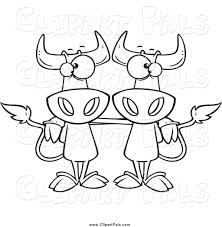 pal clipart of black and white cow buddies by toonaday 494