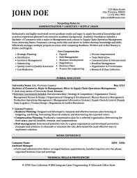 Logistics Resume Examples by Administration Logistics Resume Template Premium Resume Samples
