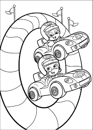 bubble guppies coloring pages