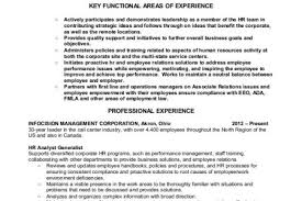 Hr Generalist Resume Sample by Hr Benefits Specialist Resume Reentrycorps