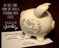 engraved piggy bank engraved piggy bank large ceramic custom piggy bank is