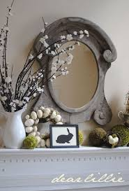 Easter Fireplace Mantel Decorations 33 best easter fireplace decor images on pinterest easter decor