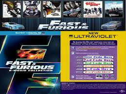 fast u0026 furious 6 movie collection hd codes for all 6 movies http