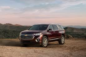 2018 chevrolet traverse first look going for a truckier look