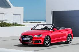 audi convertible 2016 face lifted 2017 audi a3 lineup revealed