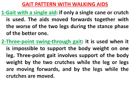 Walking Up Stairs With Crutches by Ppt Gait Training Powerpoint Presentation Id 350629