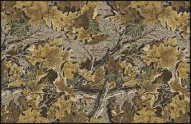 Camo Area Rug Realtree Leaves Branches Camouflage Area Rug