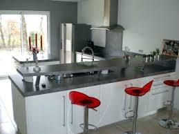 plan de travail cuisine blanc laqué cuisine laquee blanche plan de travail gris cuisine plan travail