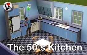 50s Kitchen Mod The Sims The 50 U0027s Kitchen