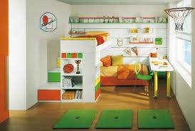 basketball twin kids bedroom