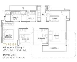 maisonette floor plan the vales executive condominium singapore