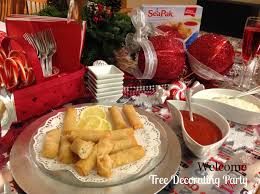 holiday appetizers perfect party appetizers rich u0027s seapak spring rolls at our tree