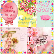 birthday card messages hey it s sherry s