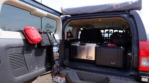 Interior Of Hummer H3 Rear Door Mod