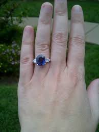 oval sapphire engagement rings can i see your nondiamond engagement ring and any sapphire ring