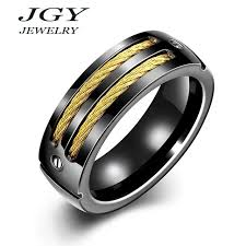 best ring for men best ring for gift titanium jewelry with steel wire
