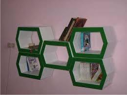 Diy Honeycomb Shelves by Honeycomb Cardboard Diy Cardboard Honeycombs And Newspaper Paper
