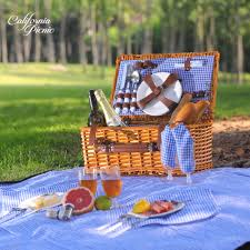 picnic basket set for 2 picnic basket set 2 person picnic set waterproof picnic