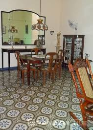 Dining Room Floor Granada Tile All Over The World Cement And Concrete Tile Gallery