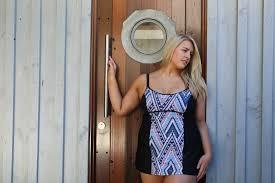 nomad underwire swim dress u2013 capriosca swimwear australia