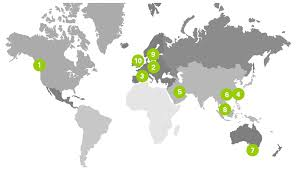 Where Is Poland Located On A World Map by Locations Recaro Aircraft Seating