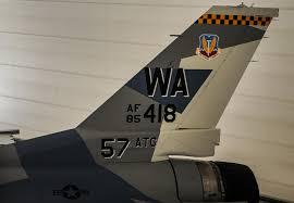 the aviationist aggressors f 16 got a new u201csplinter u201d color scheme