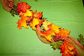 thanksgiving dollar store table decor thrifty