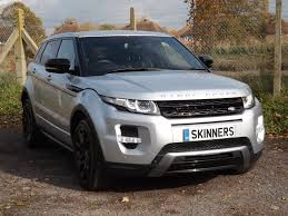 silver range rover evoque used land rover range rover evoque dynamic silver cars for sale