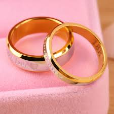 rings love couple images Forever love lovers couple matching ring steel finger ring jewelry jpg