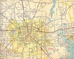 Dallas Fort Worth Area Map by Texasfreeway U003e Houston U003e Historical Information U003e Old Road Maps