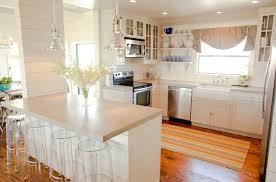 lucite bar stools contemporary kitchen lynne scalo design