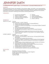 science cv examples cv templates livecareer