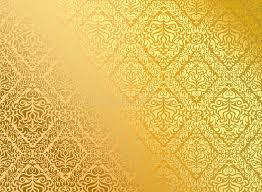 Conhecido Ouro Sem Emenda Do Papel De Parede Ilustração do Vetor  @AX34