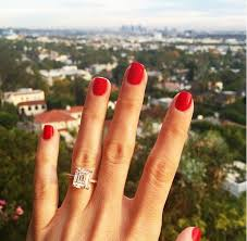 square engagement rings with band best 25 emerald cut engagement rings ideas on emerald