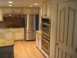 Glaze Kitchen Cabinets by Glazed Kitchen Cabinets Cream Image Of Cream Colored Distressed