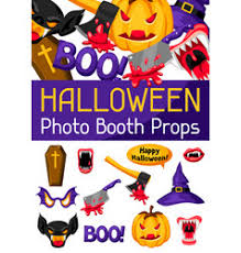 Halloween Photo Booth Props Photo U0026 Booth Vector Images Over 400