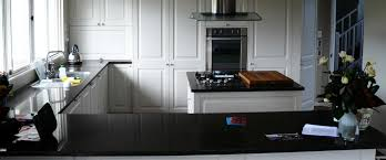 granite countertop one wall kitchen cabinets dishwasher water
