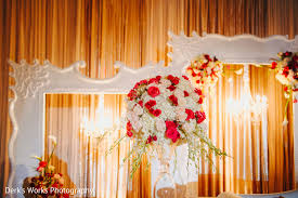floral u0026 decor in columbus oh indian wedding by derk u0027s works
