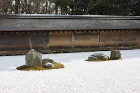 Zen Garden Rocks Ryoanji Temple And Zen S Rock Garden Kyoto Myau Myau S Photo