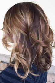 idears for brown hair with blond highlights best brown hair with caramel highlights combination