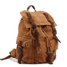 mens travel bag images Fashion men 39 s backpack vintage canvas school bag men 39 s travel bags jpg
