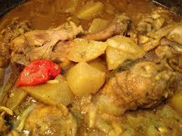 cuisine antillaise colombo de poulet colombo de poulet