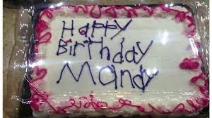 photo of unusual birthday cake goes viral cnn