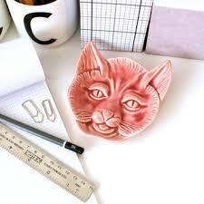vintage cat ring holder images Shop change dish on wanelo jpg