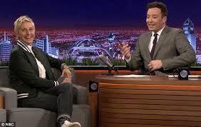 Ellen Bathroom Scares Ellen Degeneres U0027 Scare Prank On Jimmy Fallon On The Tonight Show