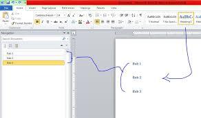 membuat daftar isi table of contents di word 2007 cara membuat bookmark dan daftar isi otomatis microsoft word 2010