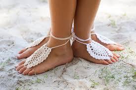 barefoot sandals giovana crochet barefoot sandals kookaburra kidswear